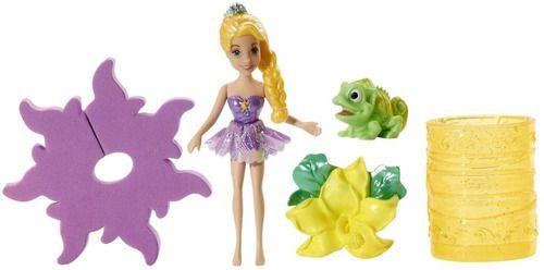 Kit Boneca Princess Rapunzel Disney + Bolsa De Banho