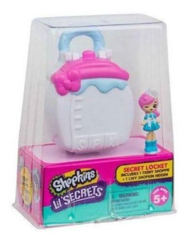 Micro Shopkins Lil Secrets Mala Mini Boneca Pingente