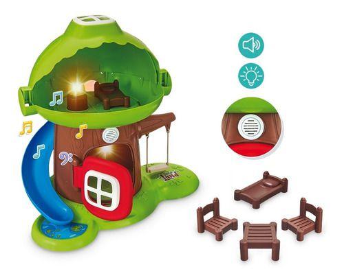 Brinquedo Infantil Interativo Casinha Na Árvore C/ Som
