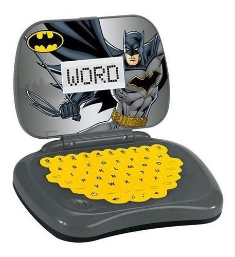 Laptop Infantil Batman Brinquedo Educativo Com Som
