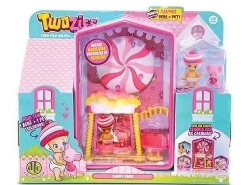 Bonecas Twozies Candy Park Parque Magico Dtc Serie 3