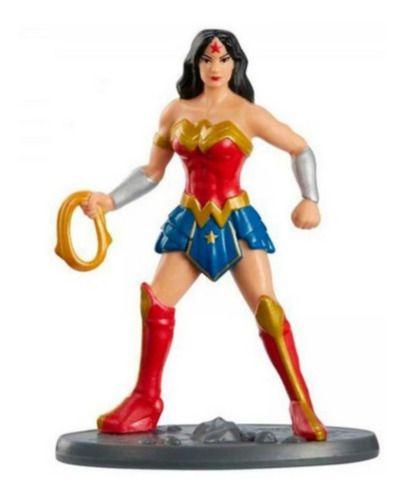 Boneco Mulher Maravilha Liga Da Justiça Mini 7 Cm