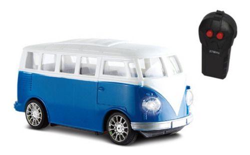 Carrinho Controle Remoto Garagem S.A. Furgão Azul