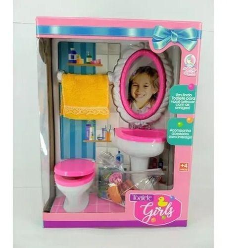 Brinquedo Toalete Girls Com Acessórios 36 Cm