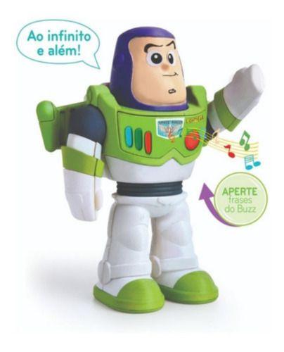 Boneco Buzz Lightyear Articulado Fala 5 Frases 22cm