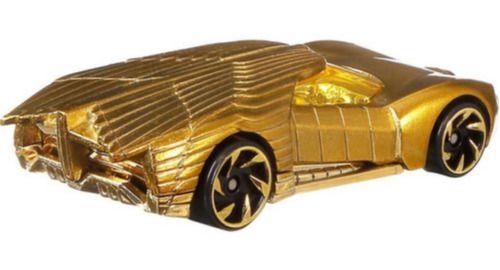 Hot Wheels Edição Ww84 Mulher Maravilha - Dourado