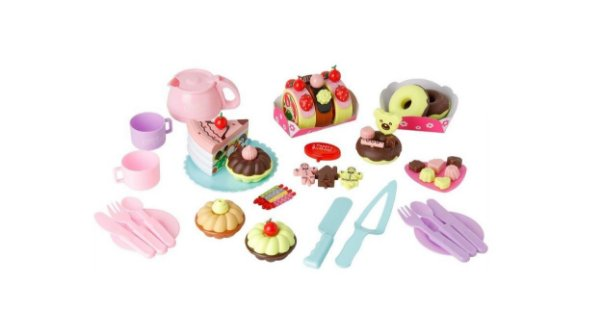 Conjunto Fast Food De Doces Biscoitos Little Home De Velcro
