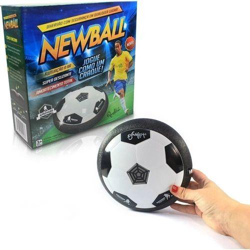 Bola Flutuante Hoverball - Ronaldinho Newball Luz E Som