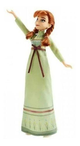 Boneca Frozen 2 Disney Anna Troca De Roupa 2 Vestido