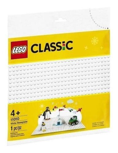 Lego 11010 Base De Construção Branca Neve Ar Placa