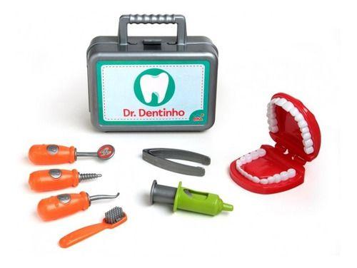 Brinquedo Maleta Doutor Dentista Dr Dentinho Elka