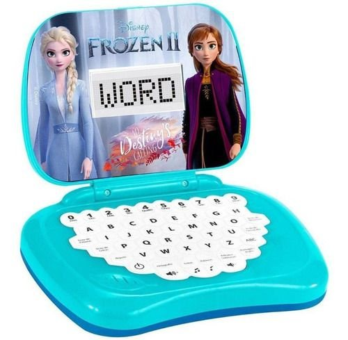 Laptop Infantil Frozen Brinquedo - Educativo Com Som