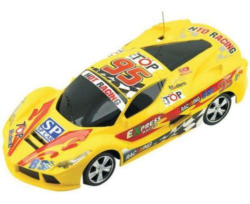 Carro RC Corrida 24 Horas De Le Mans Adesivo Amarelo