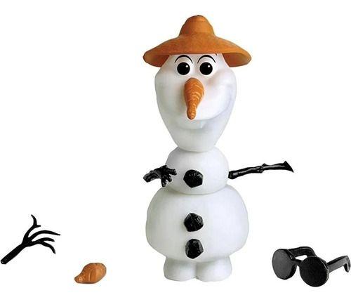 Boneco Olaf 14peças Para Montar Desmontar 20cm