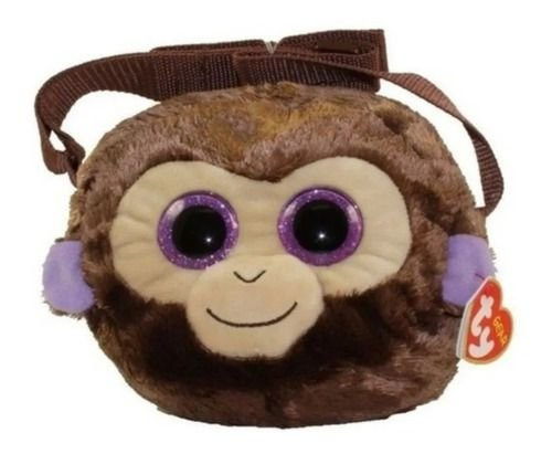Bolsa Infantil Pelúcia Ty Gear Macaco Coconut