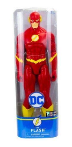 Boneco Figuras Dc Liga Da Justiça Boneco Flash 30 Cm