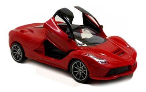 Carrinho RC Lamborghini Abre Portas Vermelho
