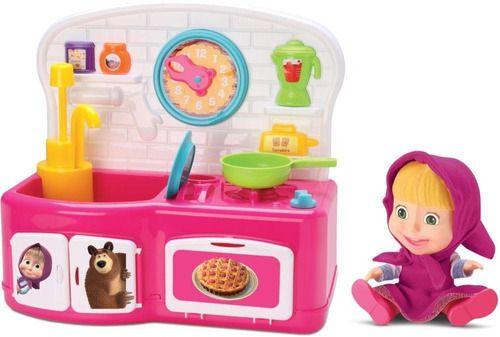 Cozinha Magica Masha E O Urso Sai Agua De Verdade