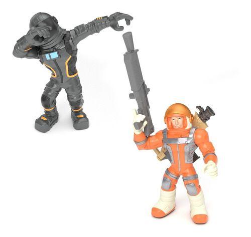 Bonecos Fortnite Figura Acessório Mission Dark Voyager