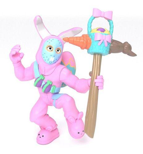 Boneco Fortnite Figura C/ Acessório Rabbit Raider