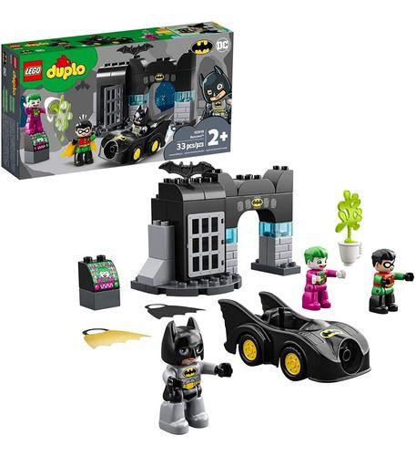 Lego Duplo Batman Batcaverna Dc Comics 33 Peças 10919