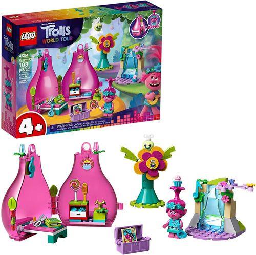 Lego Trolls - Casa Magica Word Tour - O Pod De Poppy