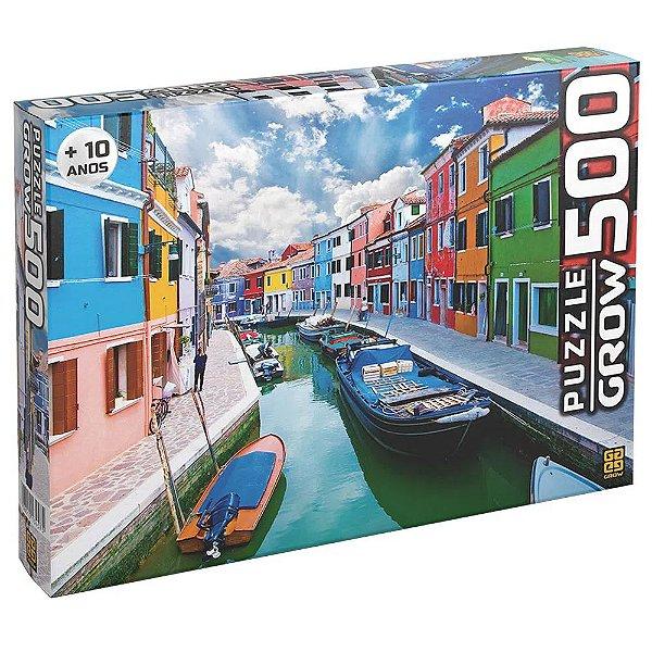 Quebra Cabeça 500 Peças Canal de Burano Puzzle
