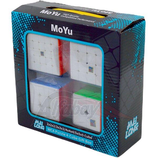 Box Moyu MeiLong 2x2x2 3x3x3 4x4x4 5x5x5 Stickerless