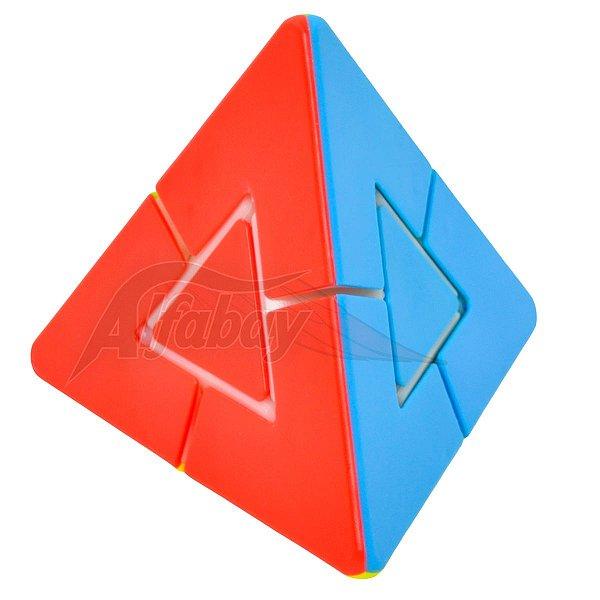 JieHui Triangle Tower Puzzle Stickerless