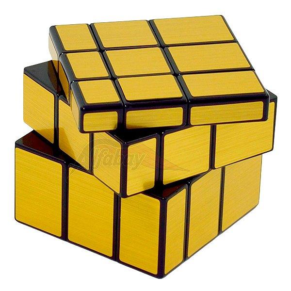 QiYi Mirror Block 3x3x3 Dourado