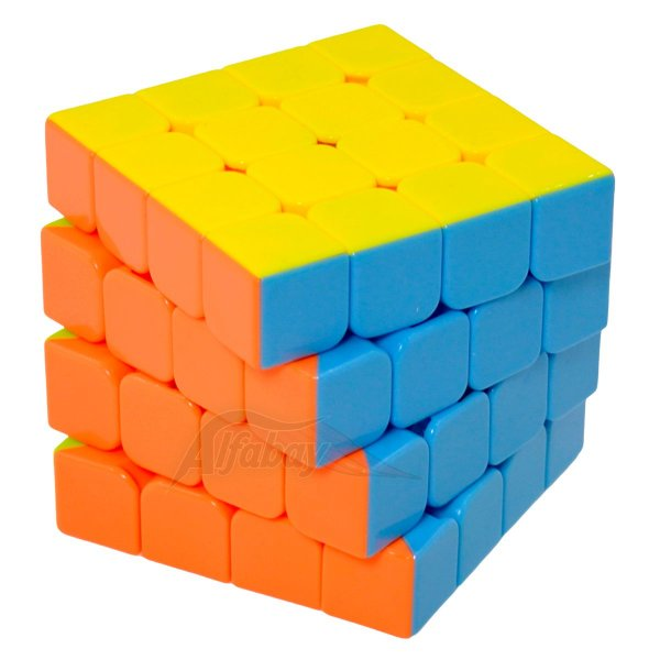 Yisheng Series 4x4x4 Candy Colors Stickerless