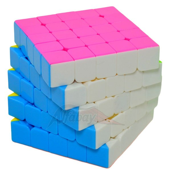 Yisheng Series 5x5x5 Candy Colors Stickerless