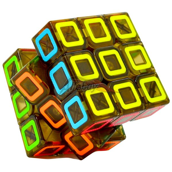 QiYi 3x3x3 Black Stickerless Dimension