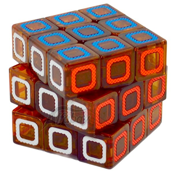 Yisheng Series 3x3x3 Red Stickerless