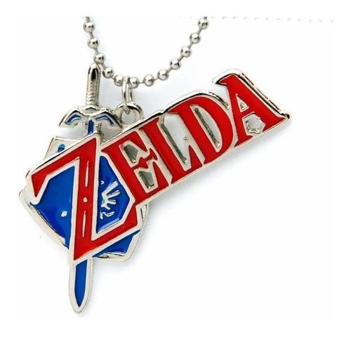 Colar Legend Of Zelda -game Cores Vivas E Claras