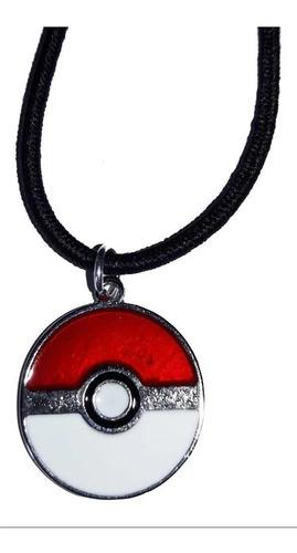 Colar Pokebola Pokeball Pokémon Go