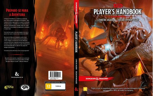 D&d Dungeons And Dragons Livro Do Jogador Players Handboook