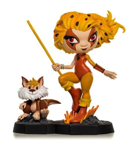Estátua Cheetara & Snarf Thundercats Edição de colecionador