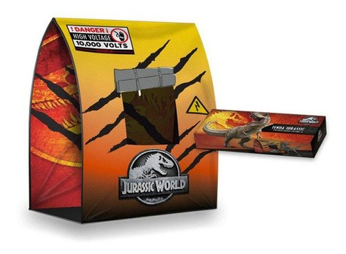 Barraca Tenda Toca Infantil Dinossauro Jurassic World Core