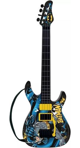 Guitarra Batman Infantil Cavaleiro Das Trevas - 11 Musica
