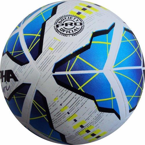 Bola De Futebol Society Allpha Oficial Madri Termoselada