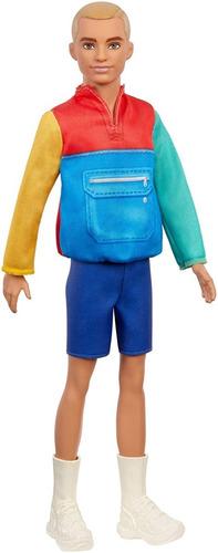 Barbie Fashionistas Ken Edição 2021 Nova Embalagem N163