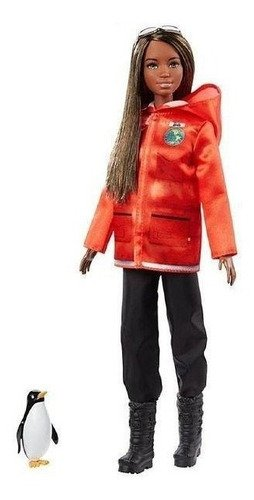 Barbie National Geographic Biologa Marinha Polar Morena