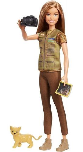 Barbie National Geographic Fotografa Da Vida Selvagem Morena