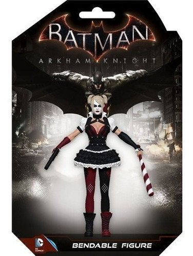 Batman Arkham Knight Figura Maleável Harley Quinn 14 Cm