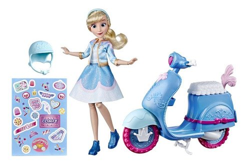 Disney - Comfy Squad - Princesa Cinderela Com Moto