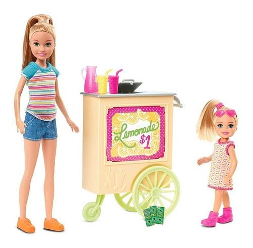 Barbie - Carrinho De Limonada Com Acessorios 2 Boneca