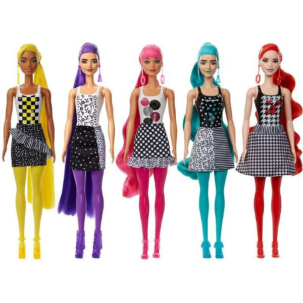 Boneca Barbie Color Reveal Fashion 7 Surpresas - Pet Rosa