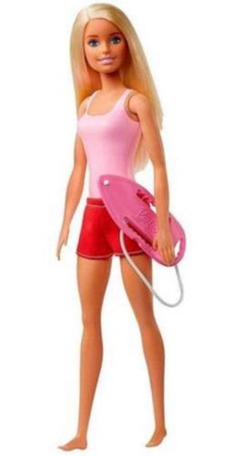 Boneca Barbie Edição 60 Anos Profissões Salva Vidas Praia