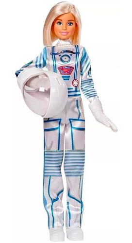 Boneca Barbie Edição Especila Astronauta 60 Anos Profissões